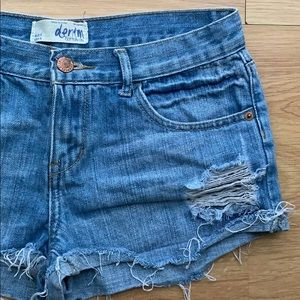 Cotton On Shorts - Cotton On Denim Distressed Jeans Size 4